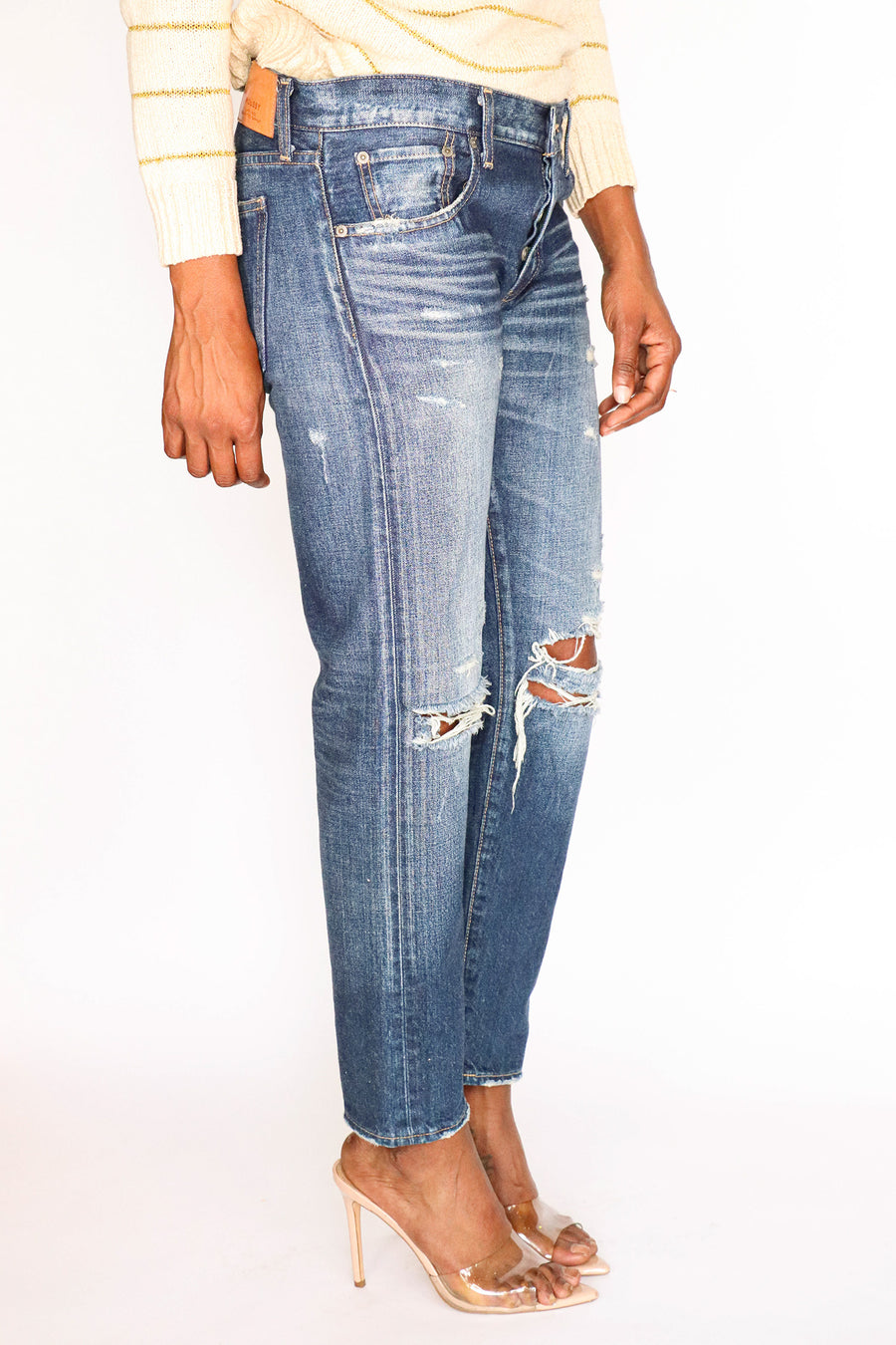 MOUSSY - Distressed Denim - Size 29