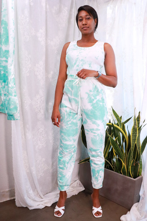 Nasty Gal- You're All Tie Want Plus Tie Dye Jogger Set - 12