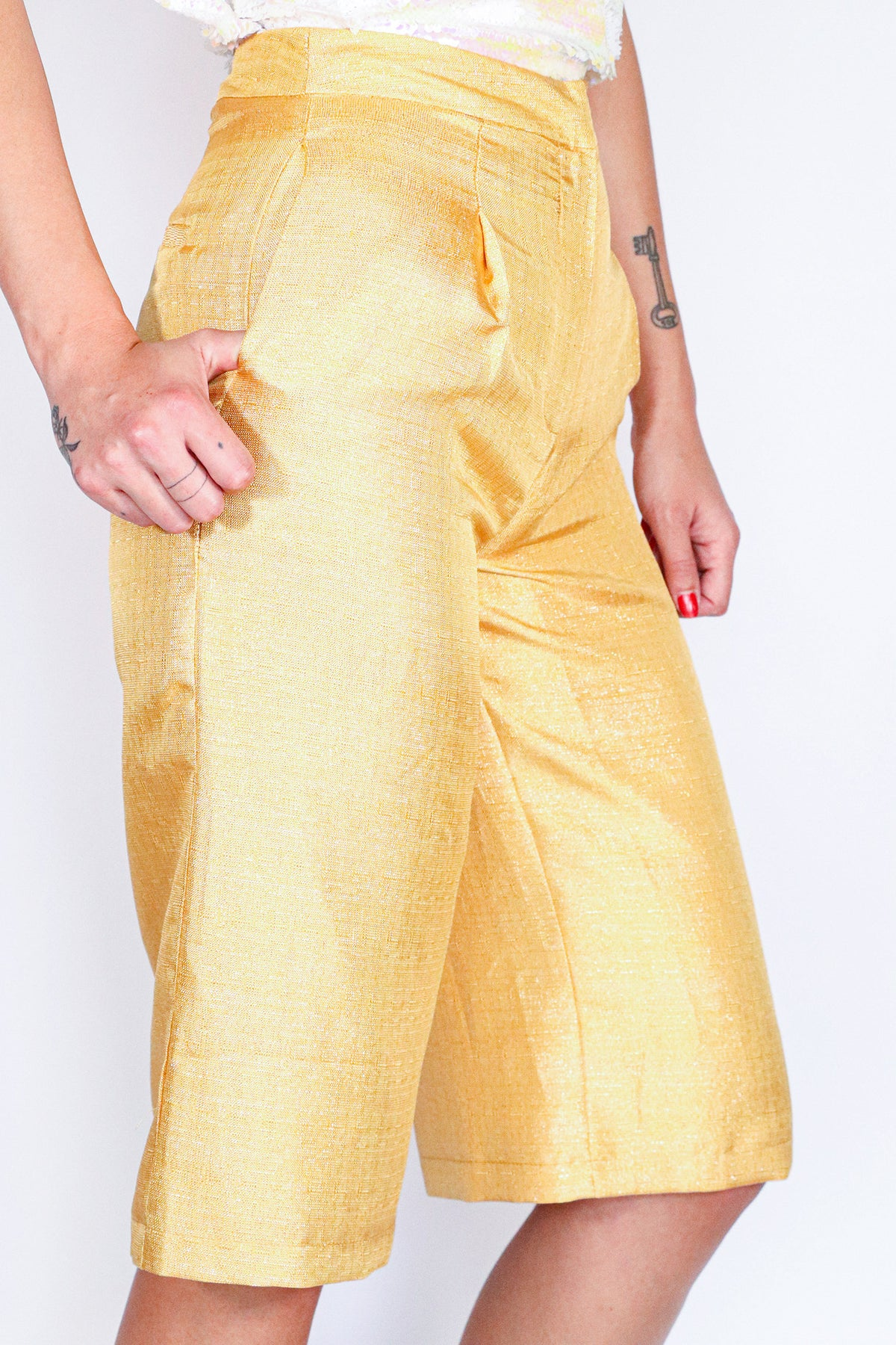 Delphine the Label - Goldmine Culottes - 2