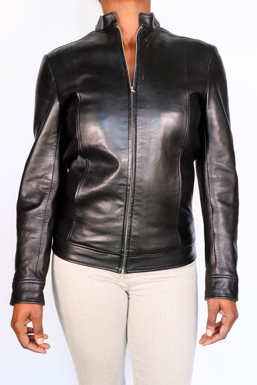 Dominic Gherardi - Sleek Leather Jacket