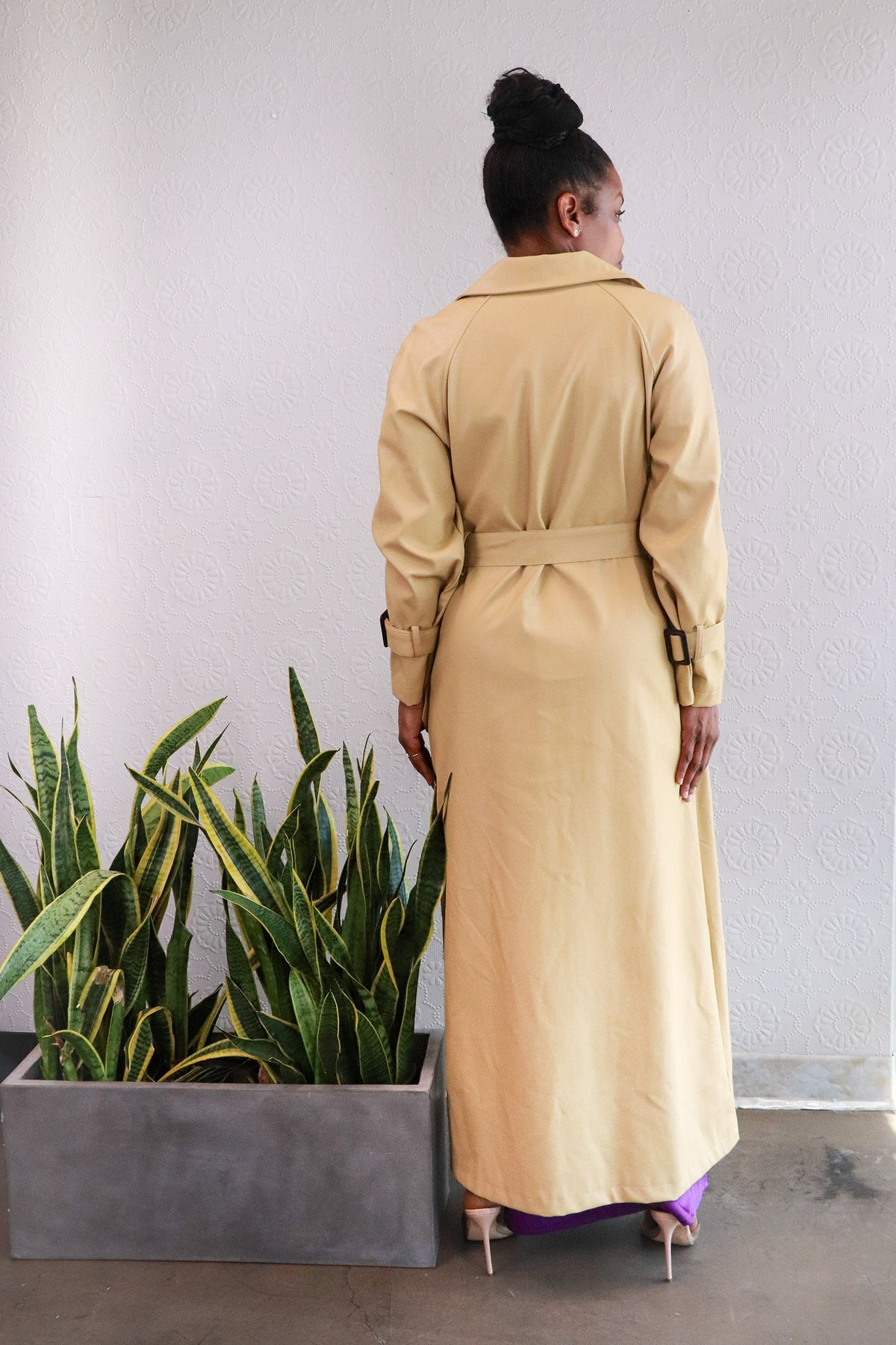 Nasty Gal - Camel Belted Trench Coat - 6