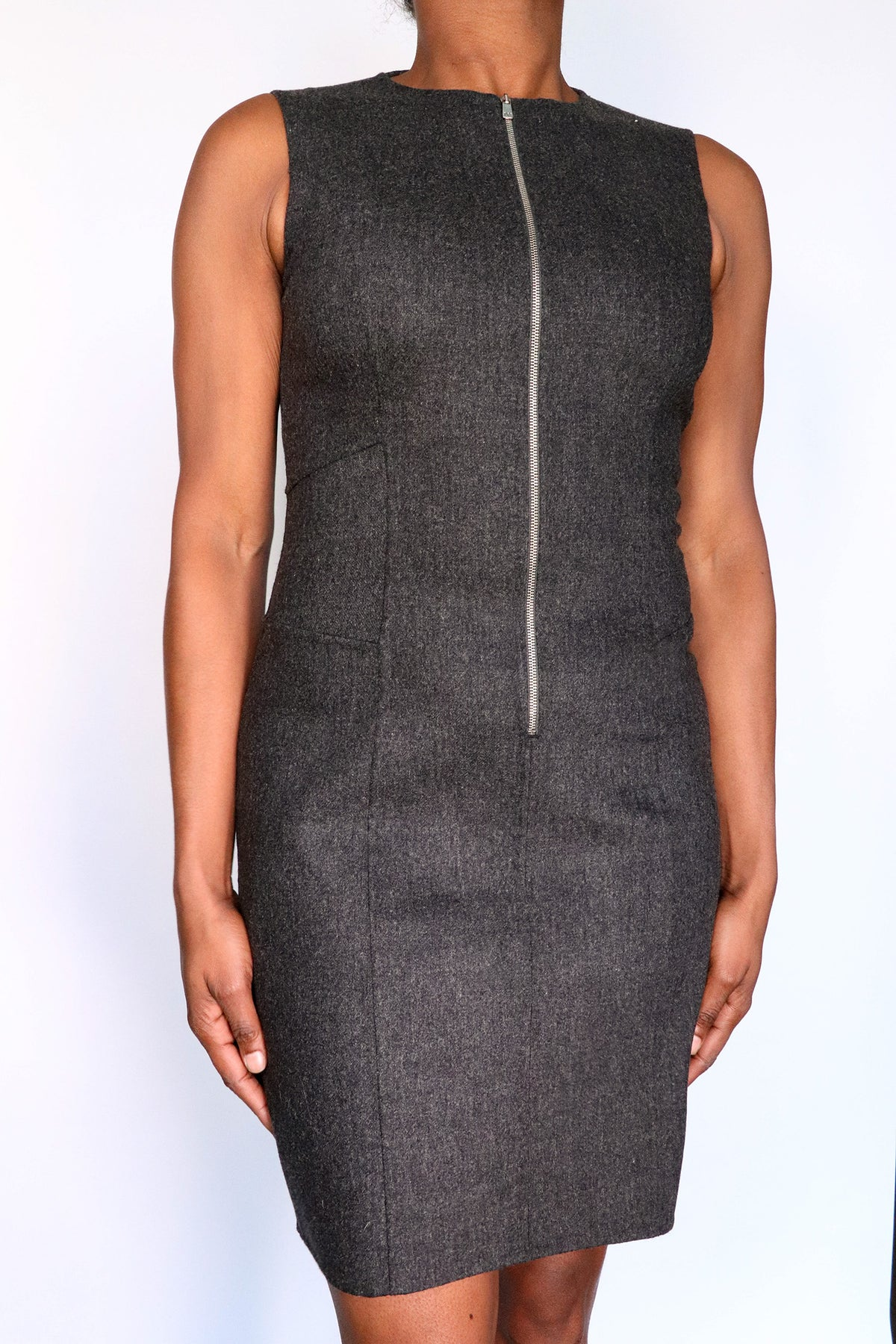Michael Kors - Wool A Line Dress - 8
