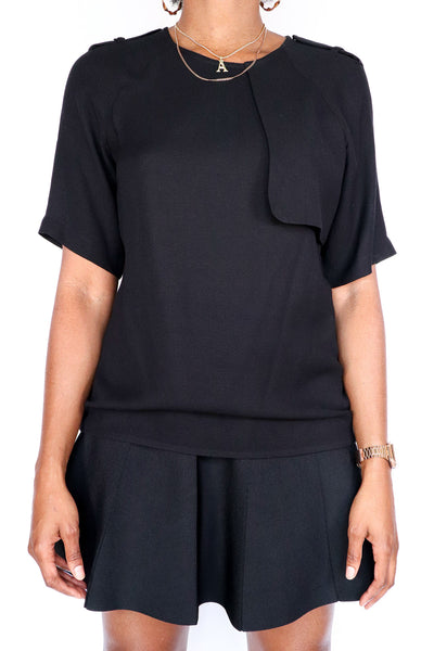 A.L.C. - Flowing Black Blouse - XS