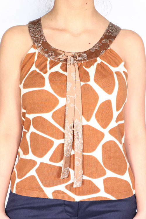 Moschino Cheap & Chic - Giraffe Print Tank - 4