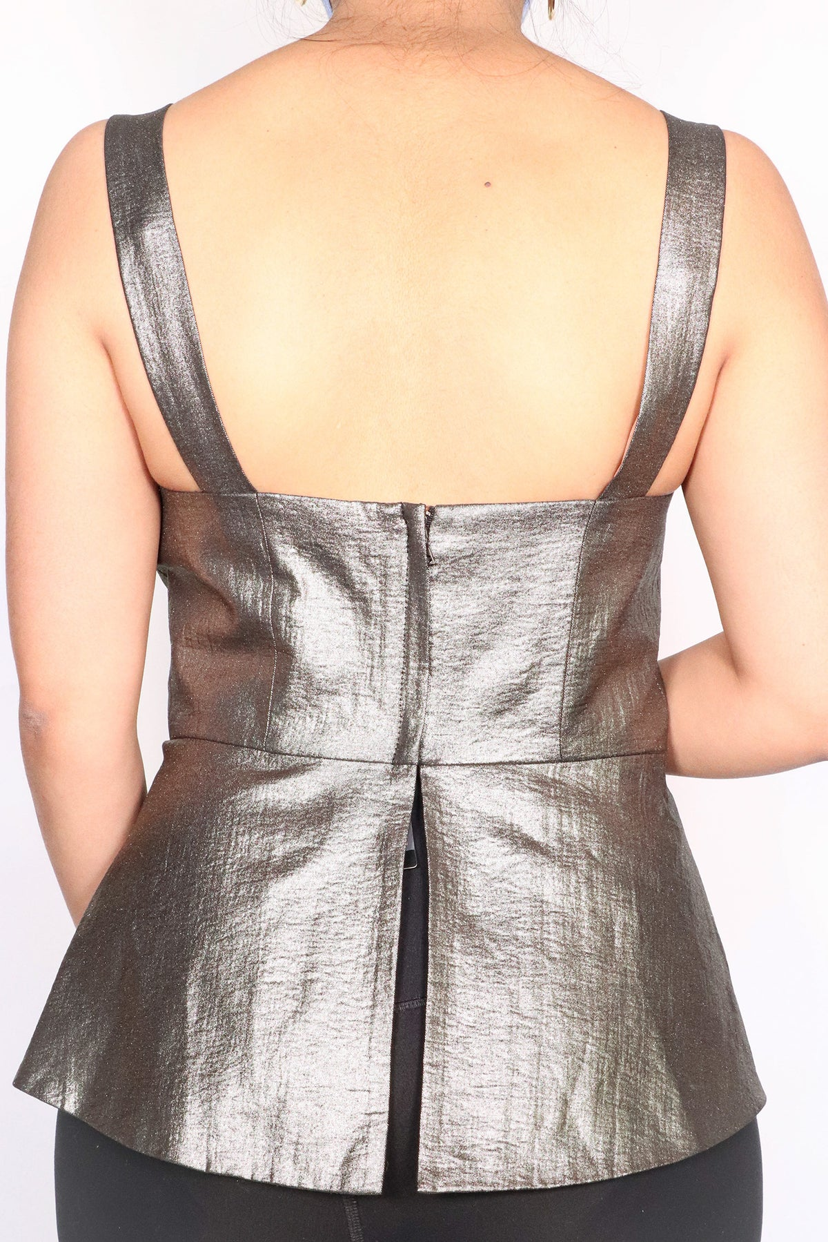 BCBGMAXAZRIA - Metallic Top - S