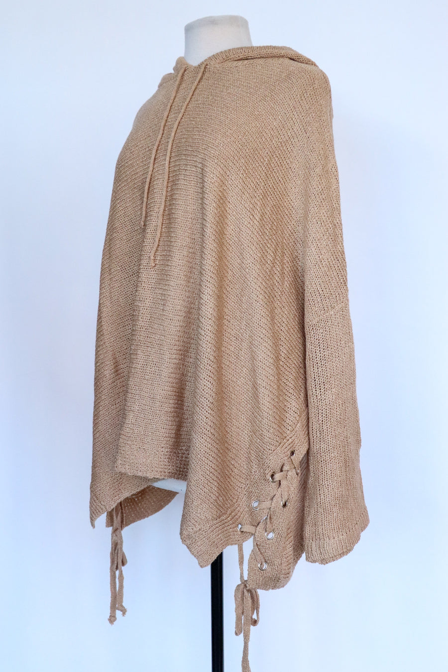 Naked Wardrobe - Tan Knit Sweater