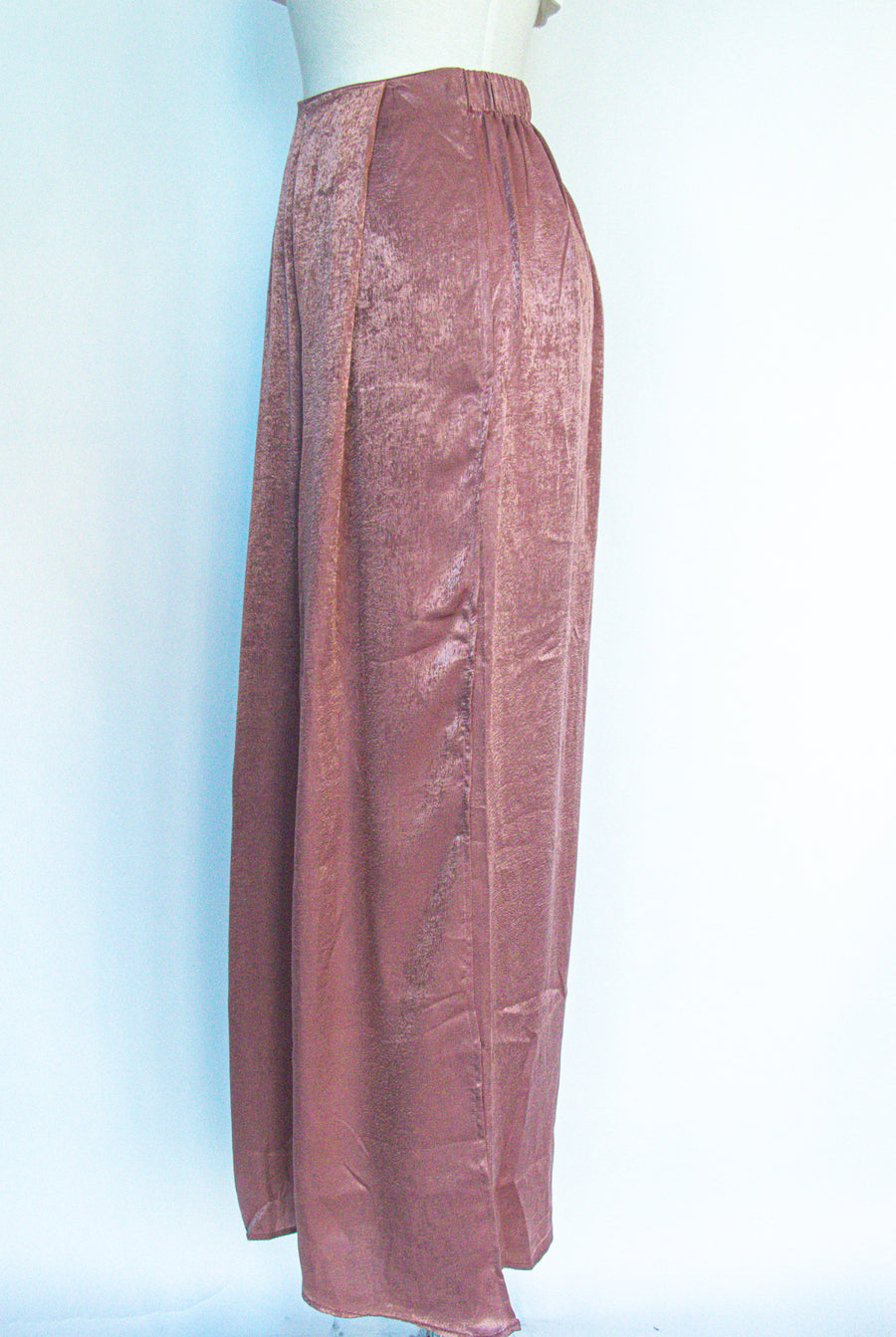 Naked Wardrobe - Pink Satin Pants