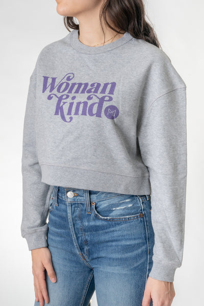 Womankind Cropped Sweatshirt