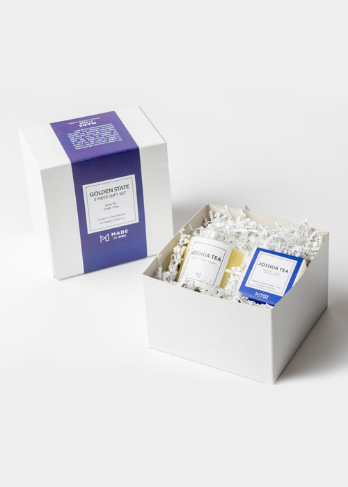 Corporate Gift - Golden State Gift Set - Candle & Soap