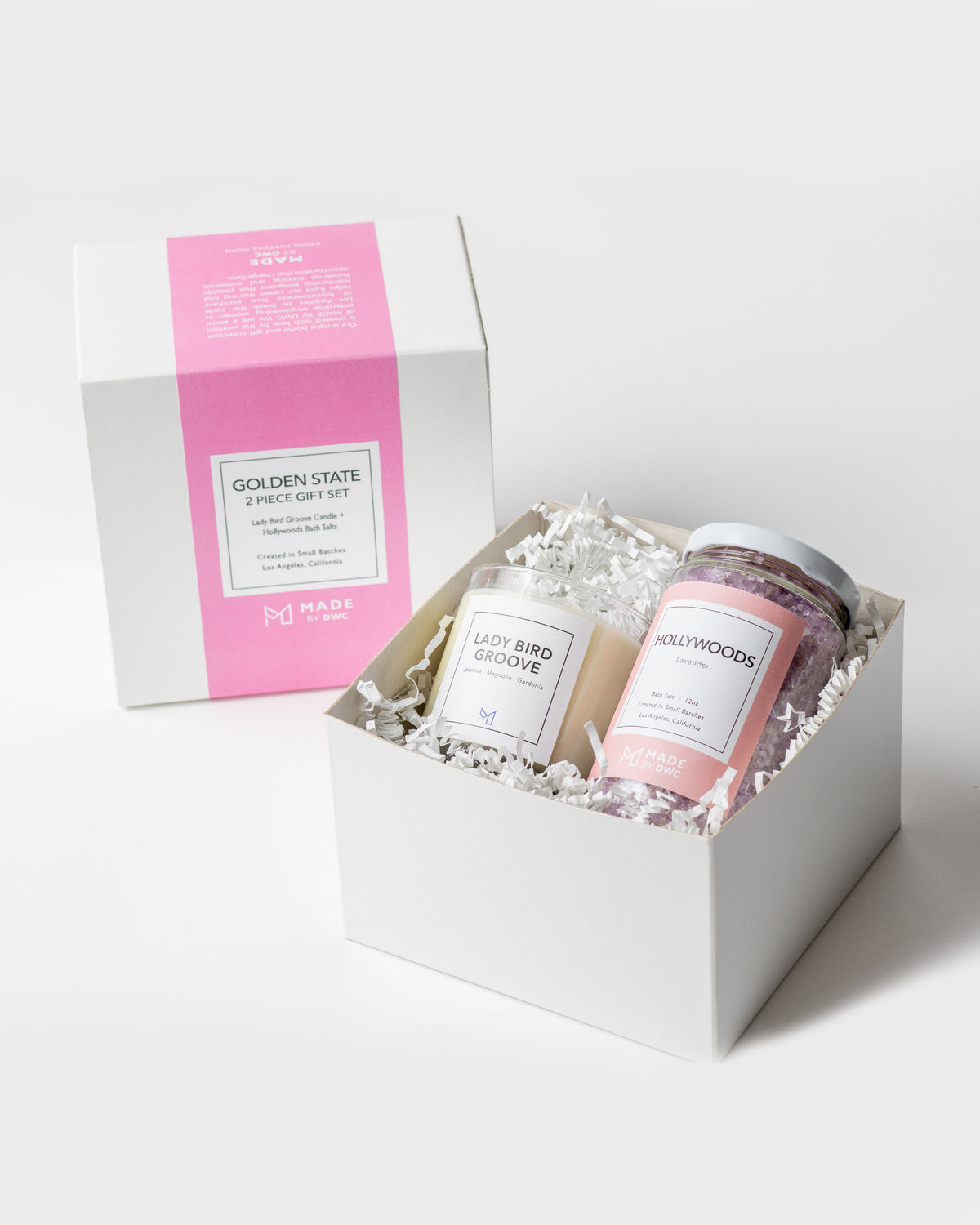Golden State Gift Set - Lady Bird Groove Candle & Bath Salts