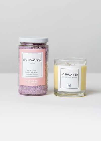 Golden State Candle & Bath Salts Gift Set Case Packs