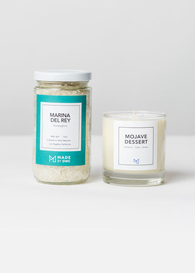 Golden State Gift Set - Mojave Dessert Candle & Bath Salts