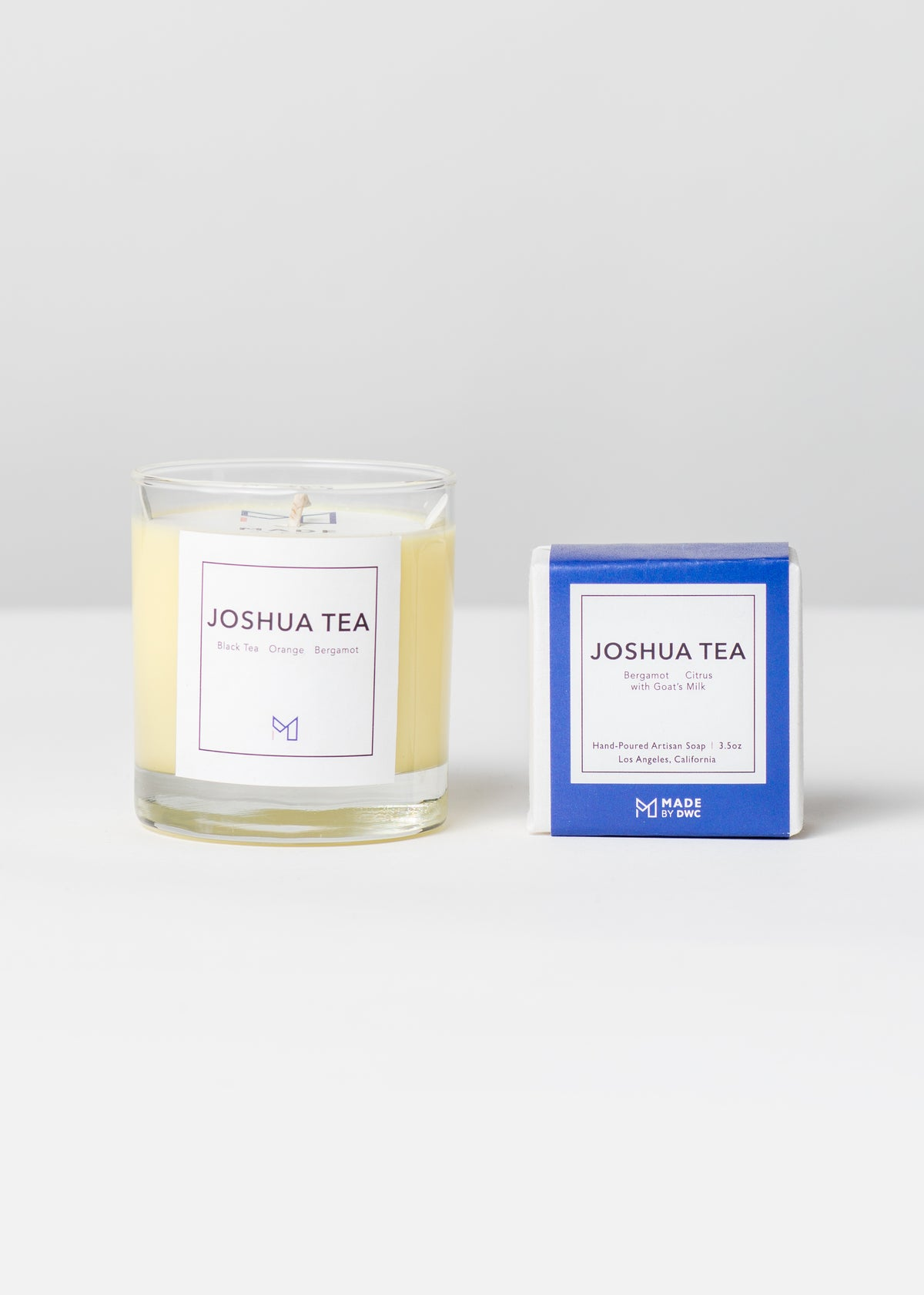 Golden State Gift Set - Joshua Tea Candle & Soap