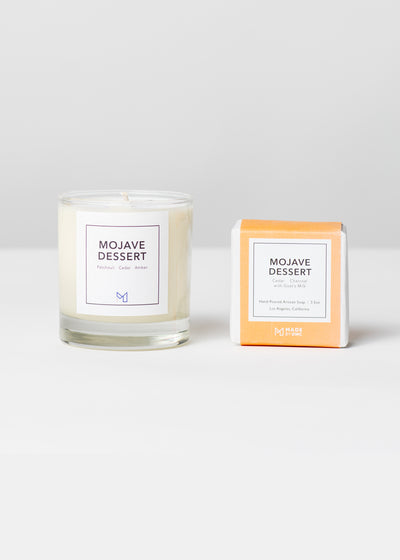 Golden State Gift Set - Mojave Dessert Candle & Soap
