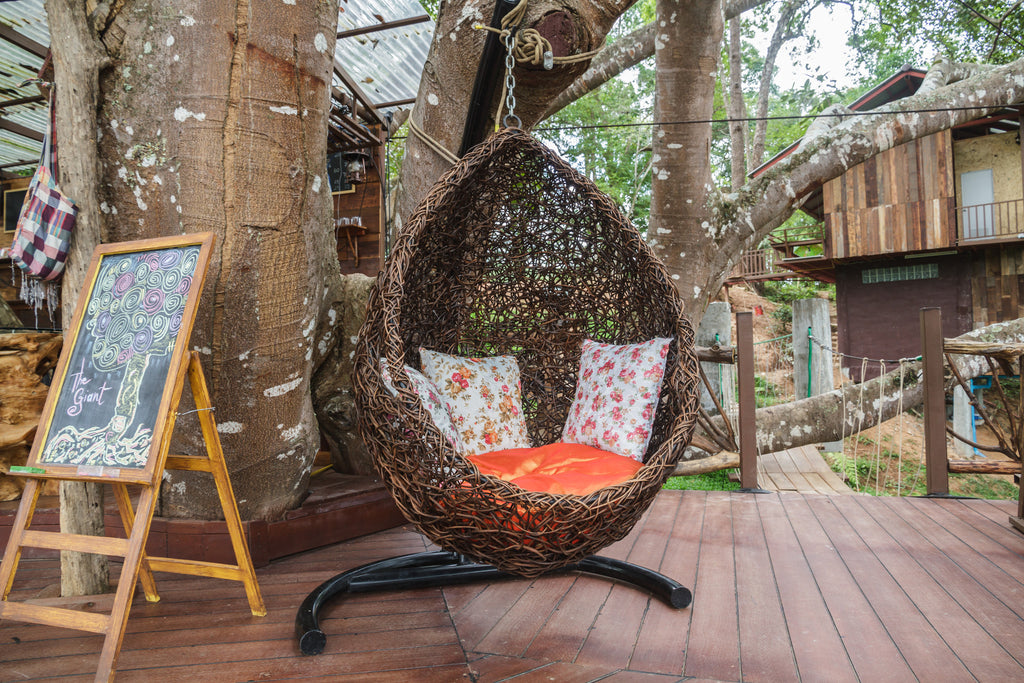 Will A Rattan Hanging Chair Last Long Outside?