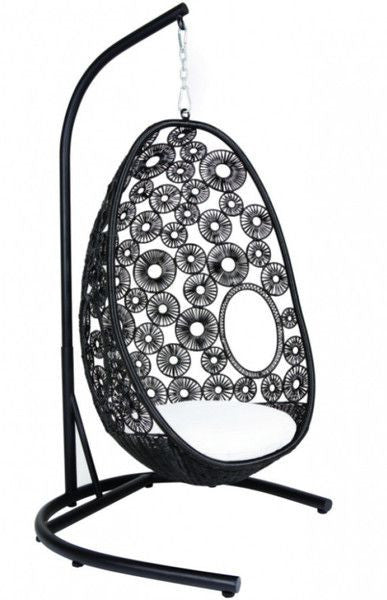 Apex Series With Stand - Hanging Egg Chair - 3 Colours - 1