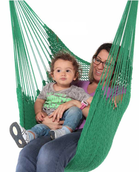 Camila Hanging Chair - White, Red, Green, Navy & Purple