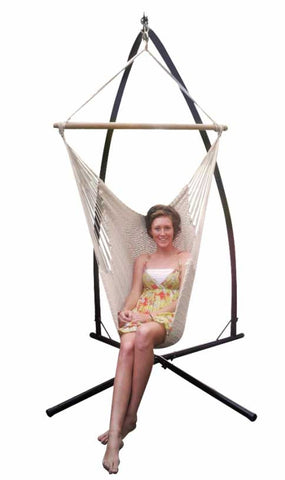 Camila Hanging Chair & Stand Combo