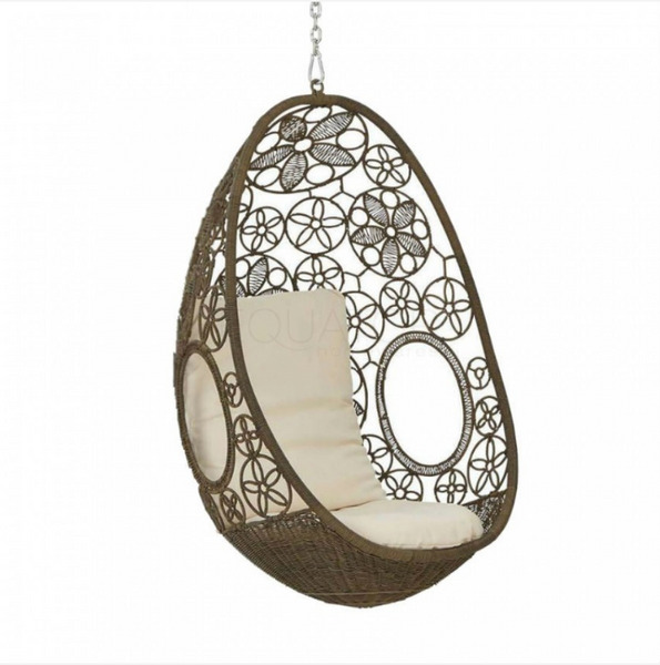 Clovelly - Natural Hanging Egg Chair