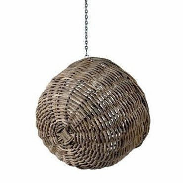 Ebba - Rattan Wicker Hanging Basket Chair - 2