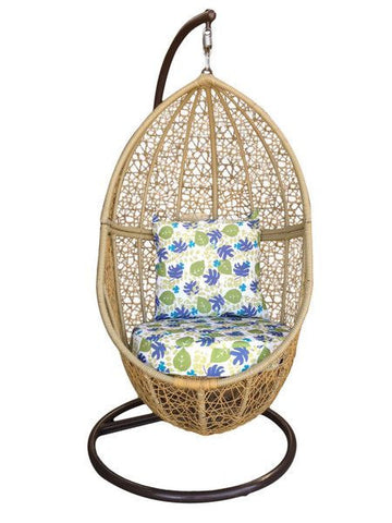 Florian - Wicker Hanging Egg Chair