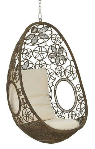 Otto - Natural Hanging Egg Chair - 1
