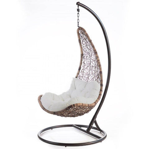 Azure Tropical Hanging Egg Chair