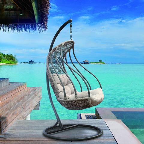 Image of Gareth Wave Hanging Chair Swing