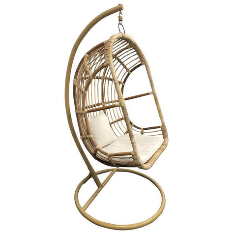Image of Raja Native Rattan Hanging Pod Chair