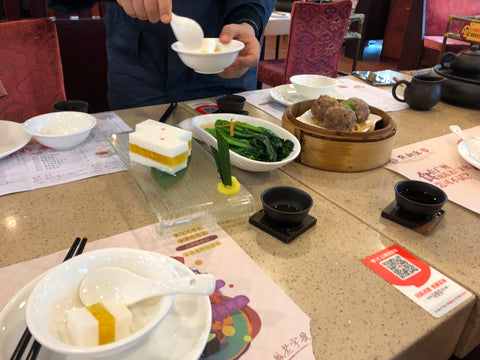 Traditional Chinese Lunch