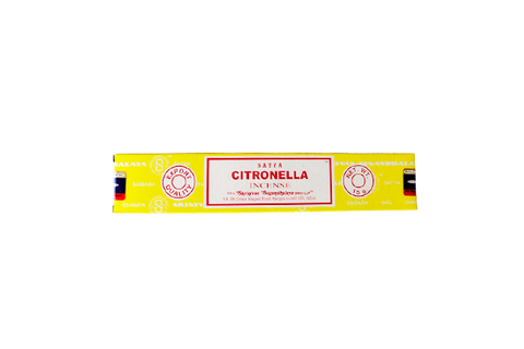 Satay: Citronella incense