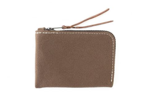 Makr: Canvas Zip Slim Wallet