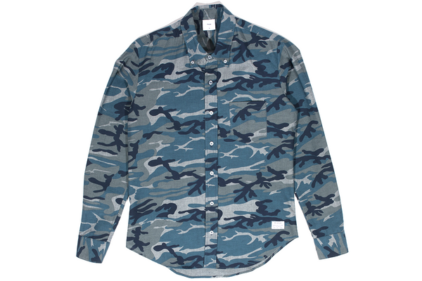 P's & Q's: Franklin Blueberry Camouflage Shirt