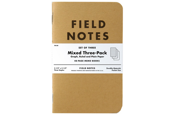 Field Notes: Mixed 3-Pack