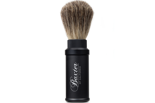 Baxter of California: Aluminum Travel Shave Brush