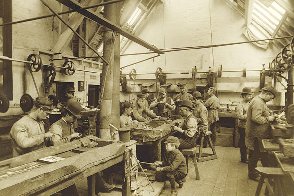 Sutcliffe Whitby Jet Workshop