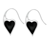 Araucaria Heart Hook Earrings