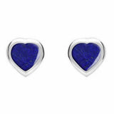 Heritage Tiny Heart Shaped Stud Earrings