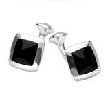 Araucaria Domed Square Cufflinks