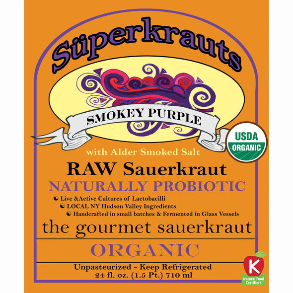 Smokey Purple SuperKraut - 24 fl. oz