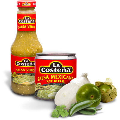La Costena Salsa Verde - Mexicanfood.be