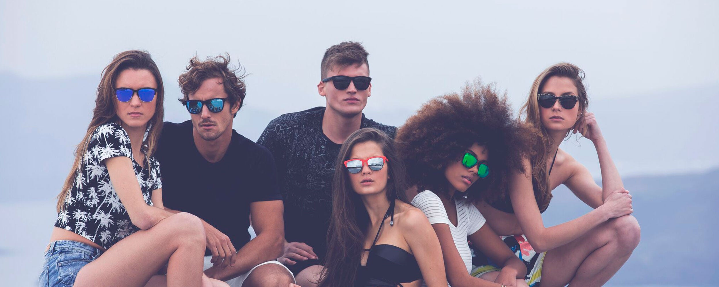 Polarized lenses sunglasses