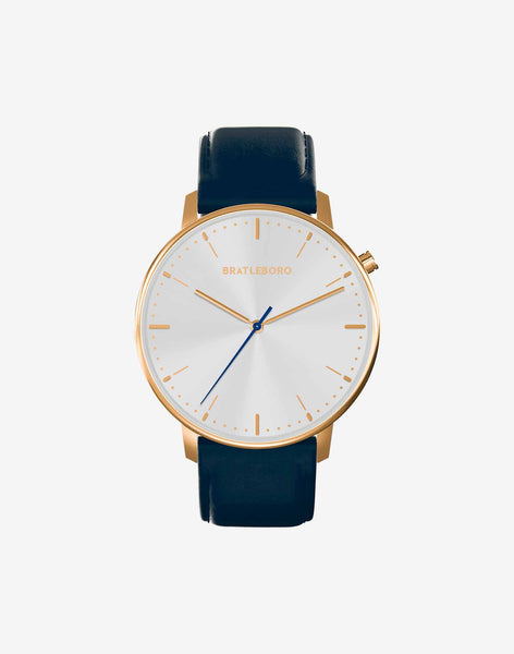 Ø 41mm · NAVY GOLD S