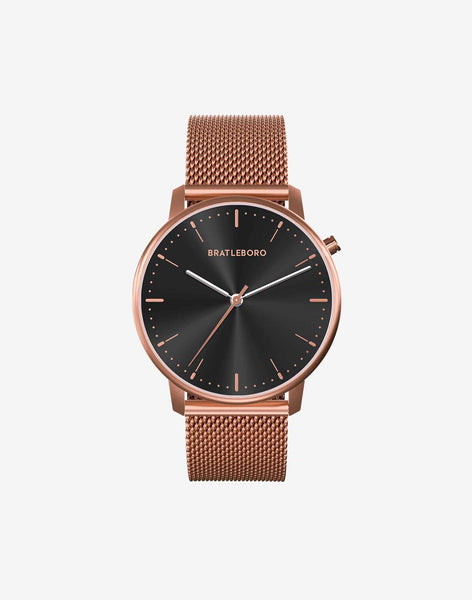 Ø 36mm · ROSE GOLD GUN S