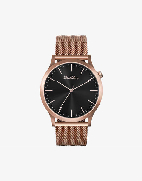 Ø 38mm ·ROSE GOLD BLACK