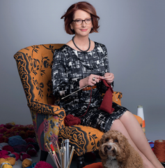 Julia Gillard our first knitting Prime Minister