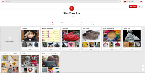 The Yarn Bar on Pinterest