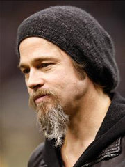 Is it true..does Brad Pitt knit?