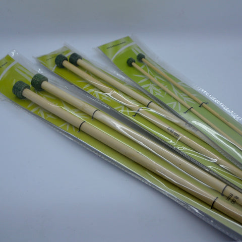 Knitpro Bamboo Straight Needles (30cm)