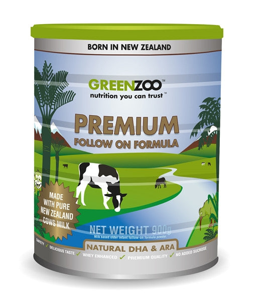 GreenZoo™ Premium Follow-on Formula (900gm) - Instore_Only